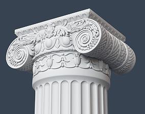 3D model decor Ionic Column 005