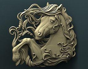 Horse 3d stl model for cnc