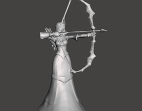 Queen Ashe 3D Model