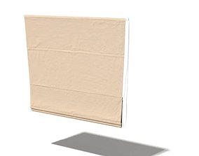 3D Beige Window Blind