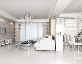 Living Dining - 01 3D