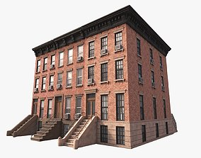 Generic Buildings New York 3D asset