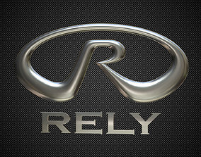3D rely logo