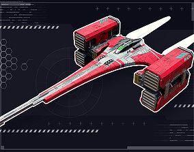 Stellar Falcon 3D model