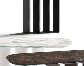 3D Bonaldo Geometric Console Tables