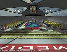 Diving Centre Sport Complex READY TO RENDER 3D asset
