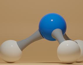 3D asset Ammonia Molecule NH3