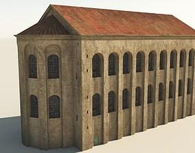 Aula Palatina - Basilica of Constantine 3D