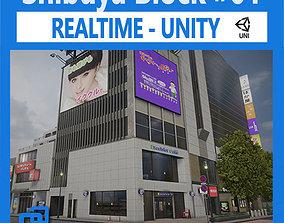 Shibuya Block 01 Unity 3D asset