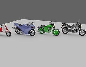 3D model BIKES PACK