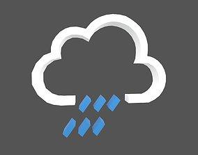 3D model Weather Symbol v11 001