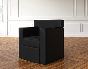 living-room 3D Williams Sonoma Clinton Swivel Chair