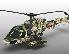 Changhe CZ11W Z-11 Z11J CZ-11 Helicopter 3D