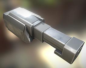 Heavy Gun Modul Animated 3D model