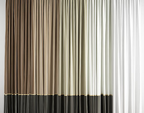 3D model Curtain 175
