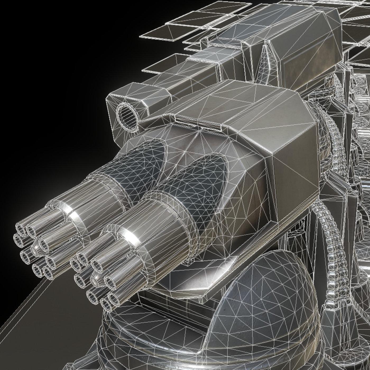 Futuristic Defense Tower Collection