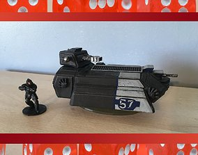 3D print model 28MM Sci Fi Futuristic Light Tank