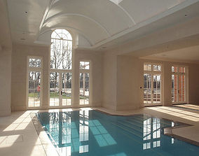 Two Indoor Pools 3D model