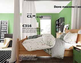 Hurdal bed 3D