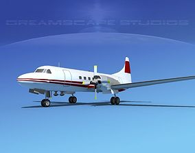 Convair CV-580 Corporate 9 3D model