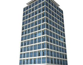 3D asset Lowpoly Building 104
