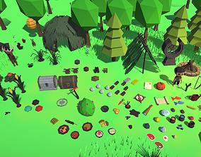 Survival Engine Art Kit 3D asset