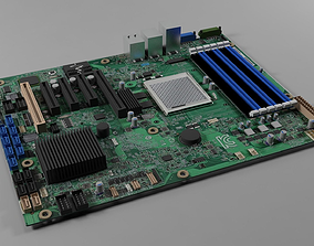 Motherboard - Computer 3D