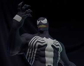 3D printable model Venom Simbionte