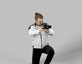 Kamil A Casual Man Photographer with a 3D asset