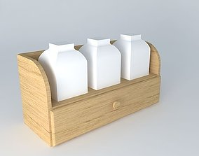 3D spice rack spices
