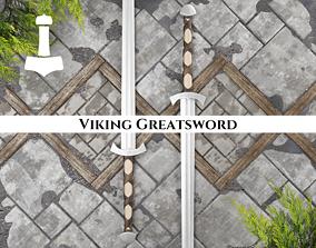 Ancient Viking Greatsword 3D model