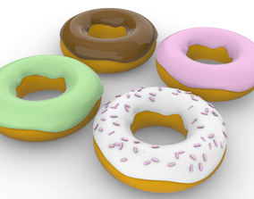 3D print model donut