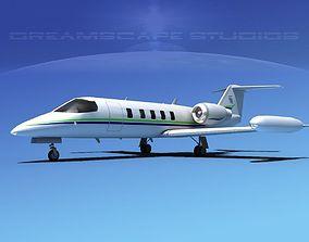3D Gates Bombardier Learjet 35 V11