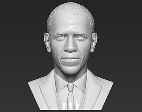 Barack Obama bust 3D printing ready stl obj formats