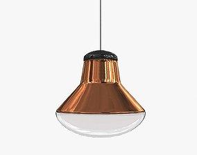 3D Light Tom Dixon Copper Blow