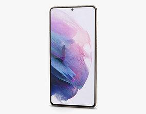 Samsung Galaxy S21 plus 5G Phantom Violet 3D model