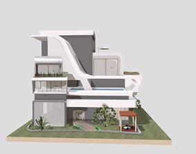 house 24 3D printable model