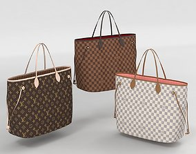 3D Louis Vuitton Neverfull GM Totes Collection