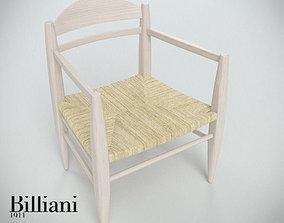 3D Billiani Vincent VG lounge chair rope