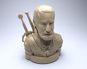 The Witcher toy figure 3D print model