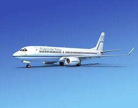 3D Boeing 737-800 Alaskan Frontier