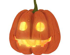 one pumpkin 3D model