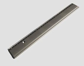 3D model Metal Ruler