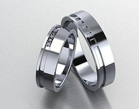 3D wedding ring line