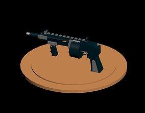 Striker Gun 3D model