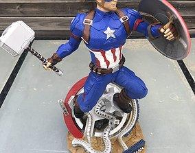 3D print model Captain America Avengers Endgame