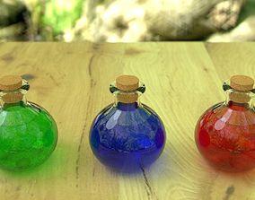Potion Bottle 3D asset