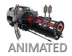 3D model Sci-Fi Energy Gun