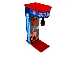 Speedbag Arcade Machine 3D model