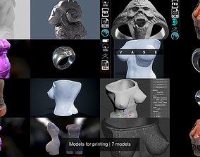 Models for printing 3D